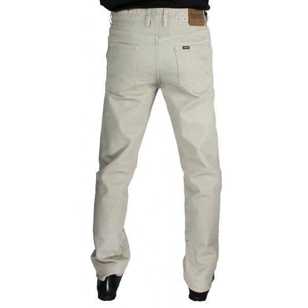 fa88c3a6 Riders by Lee Moleskin Straight Leg Jean In Stone - Pants & Jeans ...