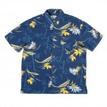 Kingston Grange Blue Forest Bamboo Shirt