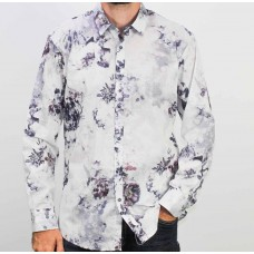 AK Demire Long Sleeve Floral Shirt-front