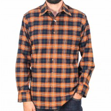 Country Look Brushed Cotton Long Sleeve Shirt-front