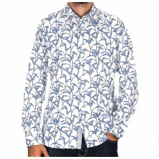 James Harper Long Sleeve Willow Shirt-front