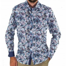 Thomson & Richards Long Sleeve Bubble Shirt Front