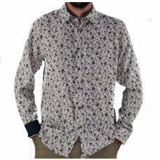 Cutler & Co Long Sleeve Cotton Shirt Front