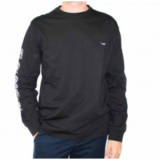 R.W Williams Signature Long Sleeve Tee-Front