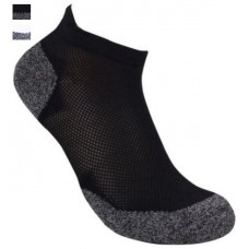 Bamboo 3G Charcoal Ankle Socks -Hero