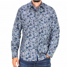 Fredericka Long Sleeve Floral Shirt-front