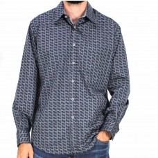 Fredericka Long Sleeve Otaki Check Shirt-front