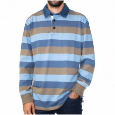 Backbay Long Sleeve Rugby Top-FRONT
