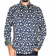 John Lennon By English Laundry Long Sleeve Donovan Shirt