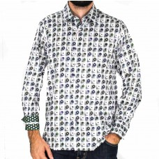 John Lennon By English Laundry Long Sleeve Clapton Shirt- front