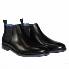 Florsheim Ceduna Black Elastic Side Boot-HERO