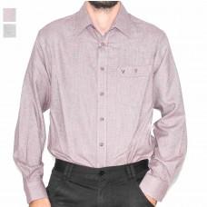Vonnella Long Sleeve Plain Brushed Shirt-Hero
