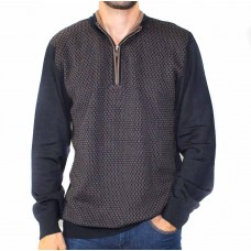 Thomson & Richards Glen 1/2 Zip Pullover-front