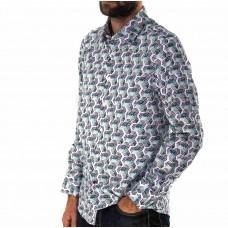 John Lennon By English Laundry Long Sleeve Obtus Shirt Side