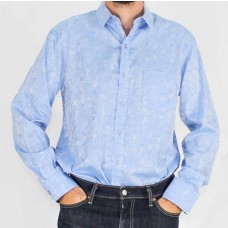 Perrone Long Sleeve Selfpattern Shirt-front