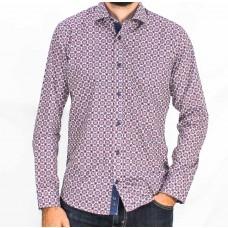 Thomson & Richards Long Sleeve Franck Shirt-front