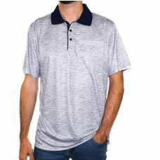 Maurio Short Sleeve Cotton Polyester Pattern Polo-Front