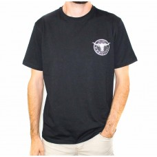 RM Williams Longhorn Medallion T-Shirt -Front