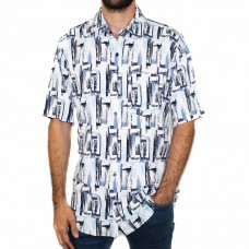 Breakaway Sylar Bam Short Sleeve Shirt-FRONT