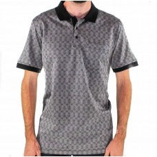 Ganton Palmer Short Sleeve Polo Shirt Front