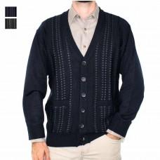 Ansett Tradewinds Wool Blend Button Up Cardi-Hero