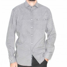 Berlin Long Sleeve Dimond Shirt-Front