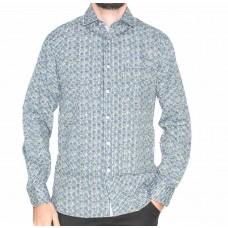 Berlin Long Sleeve Circle Shirt-Front