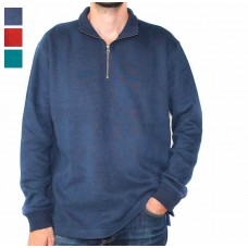Atlas 1/4 Zip Cotton Blend Pullover-Hero