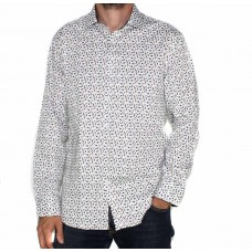Ak Demire Long Sleeve Bird Shirt-FRONT