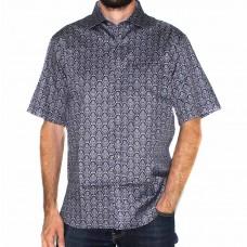 Berlin Short Sleeve Floral Shirt-Front