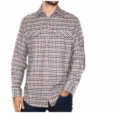 Vonella Long Sleeve 2 Pocket Check Shirt-FRONT