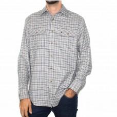 Vonella Long Sleeve Cotton Blend 2 Pocket Shirt-FRONT