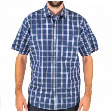 Nickel Short Sleeve Checked Shirt Front