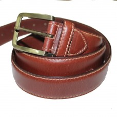 Marigold 38mm Leather Belt Tan