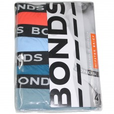 Bonds 4PK Hipster Brief