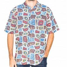 Kingston Grange Short Sleeve Ngapa Dream Shirt-Front