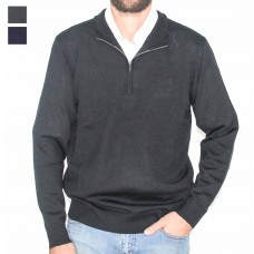 Fields 1/4 Half Zip Merino Wool Pullover -Hero