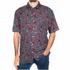 Kingston Grange Bamboo Dreaming Short Sleeve Wanakiji Shirt-Front