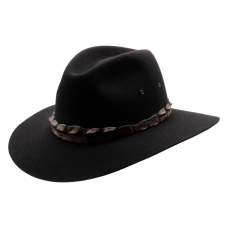 Akubra Coolabah Black-Hero