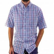 Breakaway Short Sleeve Ames Poplin Shirt Front