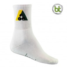 Bamboo Bowls Long Crew Sock