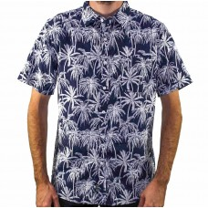 Coast Clothing Short Sleeve Beach Palm Shirt Front