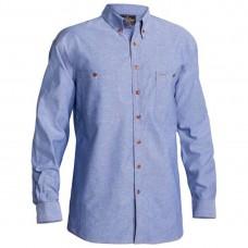 Bisley Long Sleeve Chambray Shirt-Front