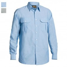 Bisley Long Sleeve Oxford Shirt-Hero