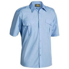 Bisley Short Sleeve Epelet Shirt -Front