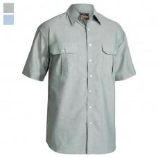 Bisley Short Sleeve Poly/Cotton Shirt-Hero