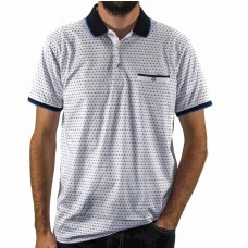Label One Short Sleeve Classic Polo  Front