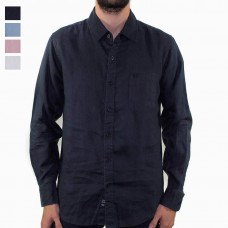 Coast Clothing Long Sleeve Linen Shirt HERO