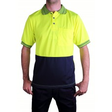 Prime Mover High Visual Polo Short Sleeve