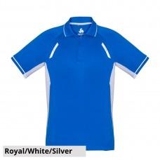 Biz Collection Short Sleeve Renegade Polo-Front